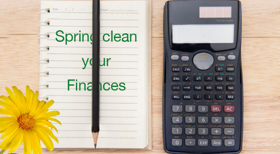 Spring clean your finances, Easy steps to get you started